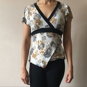 Asian style blouse